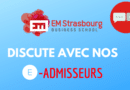 EM STRASBOURG : DISCUTE AVEC NOS E-ADMISSEURS