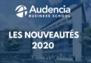 AUDENCIA : LES NOUVEAUTÉS 2020