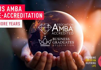 TBS ré-accréditée AMBA pour 5 ans