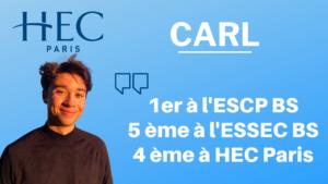 Carl – Classé top 5 à chaque parisienne ! (+ ses copies)