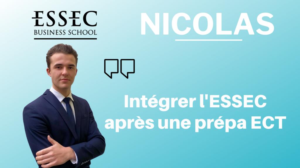 NICOLAS ESSEC ECT