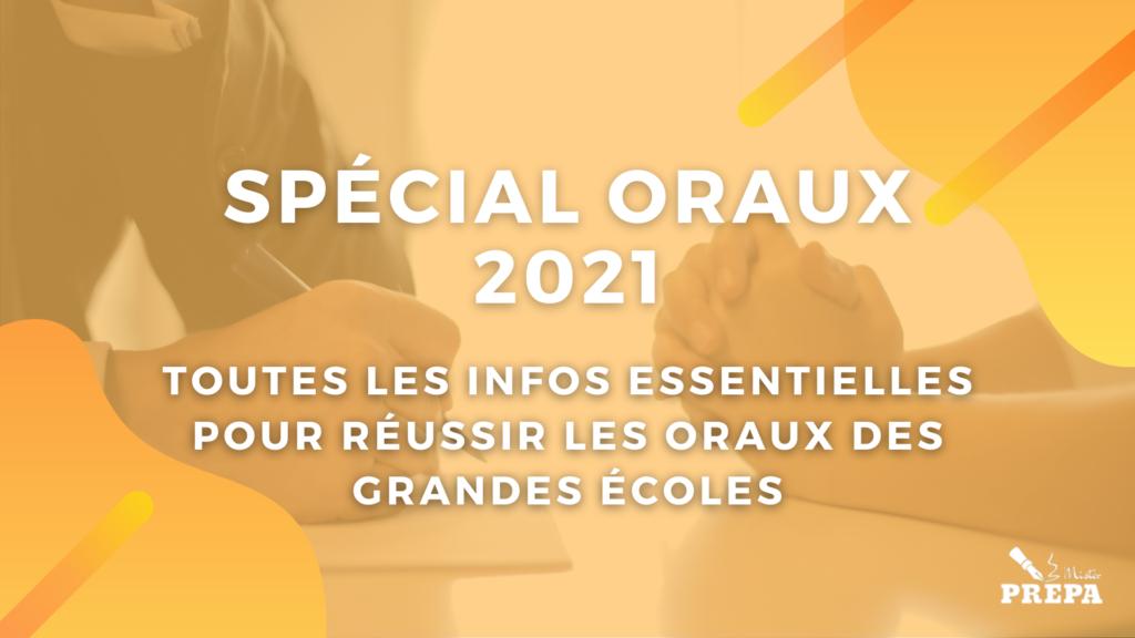 ORAUX 2021 : Toutes les informations école par école !