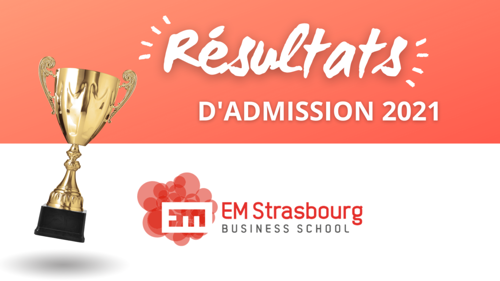 résultats admission em strasbourg