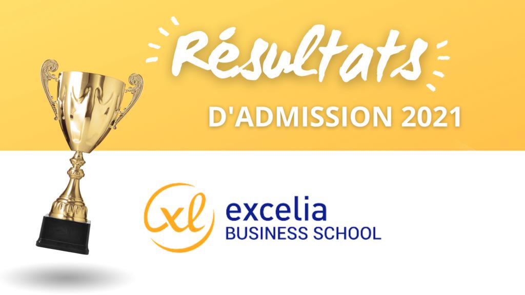 résultats admission excelia bs