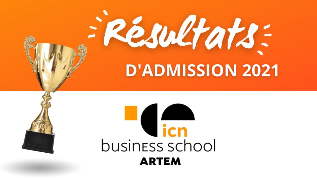 résultats admission ICN