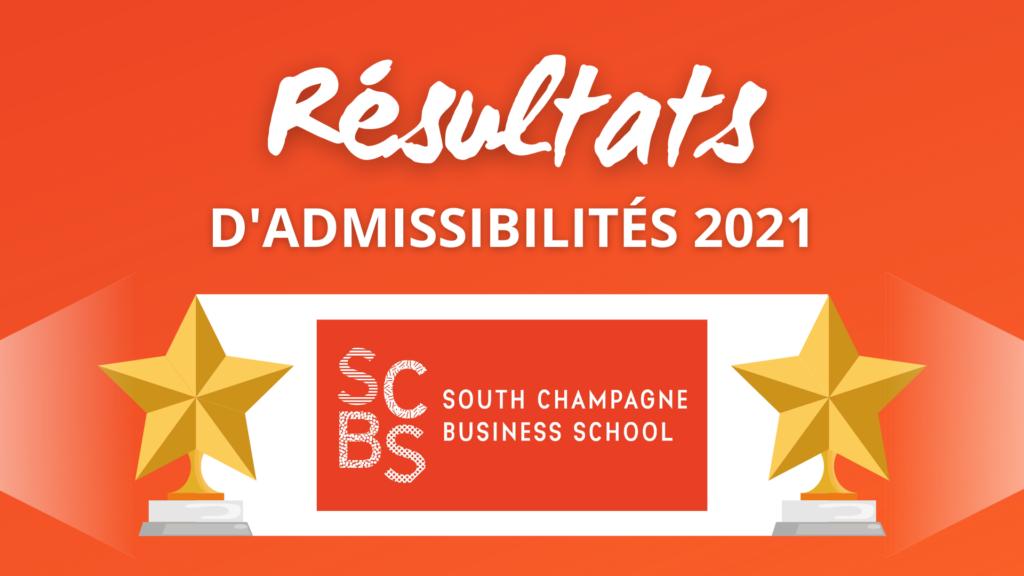 Résultats admissibilités SCBS 2021