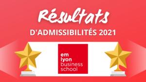 Résultats admissibilités emlyon 2021