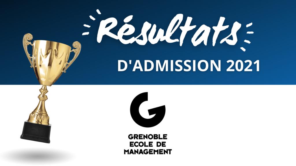 Résultats admission GEM 2021