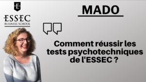 Mado - tests psychotechniques
