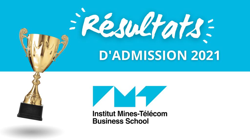 Résultats admission IMT-BS 2021
