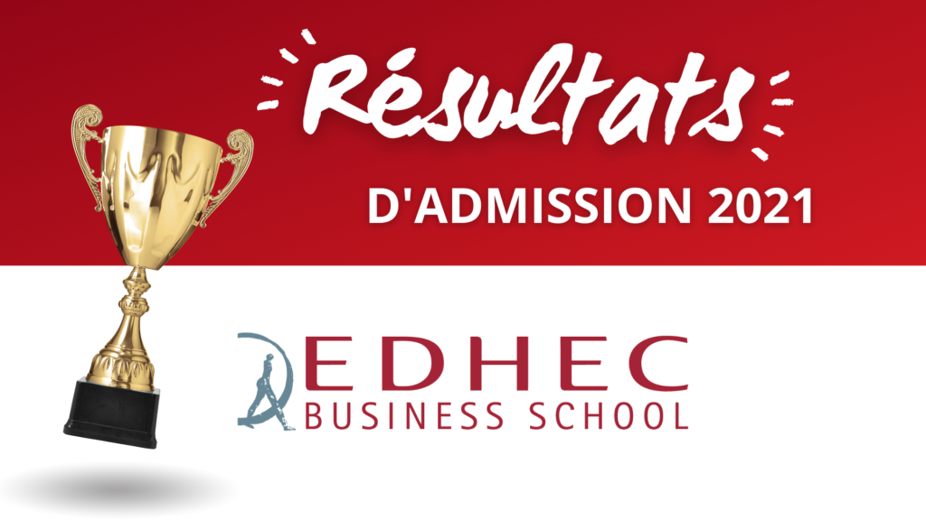 résultats admission EDHEC