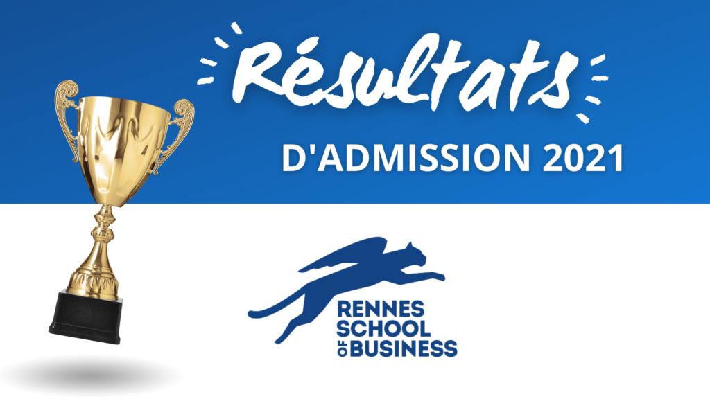 Résultats admission Rennes SB