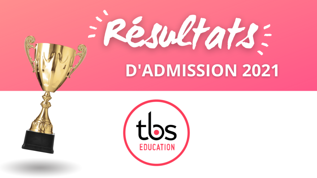 résultats admission TBS