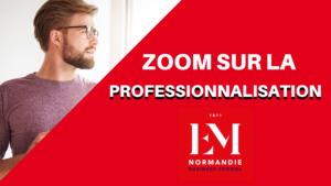 EM Normandie – La professionnalisation des étudiants