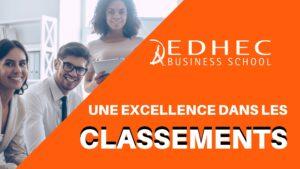 EDHEC – Une excellence dans les classements