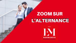 EM Normandie – L'alternance comme axe stratégique