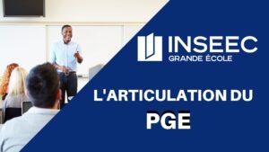 INSEEC GRANDE ECOLE – Comment s'articule le PGE ?