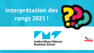 Comment interpréter son rang 2021 à l'IMT-BS ?