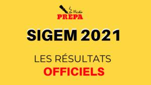 Classement SIGEM 2021 : les résultats officiels