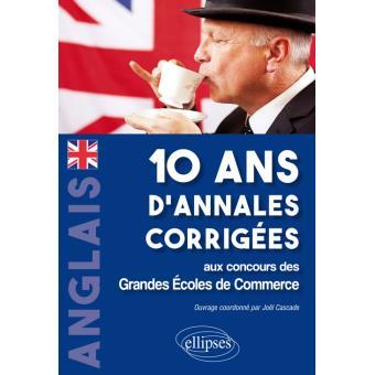 Livre annales anglais