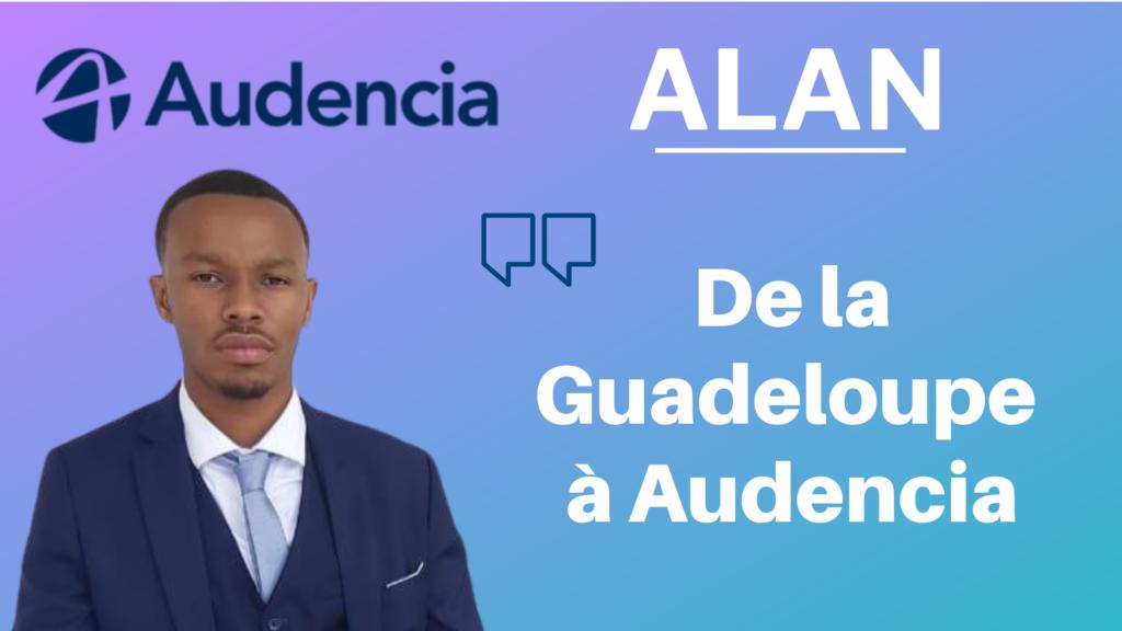 Alan – de la Guadeloupe à Audencia